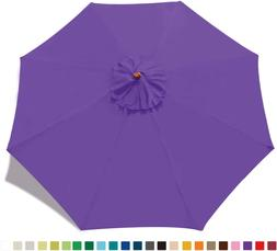 ABCCANOPY 9ft Outdoor Umbrella  Top Patio Umbrella Market Um