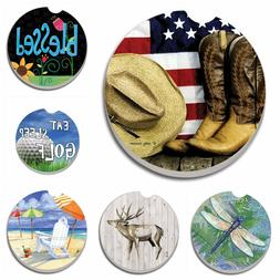 Absorbent Stone Car Coasters by CounterArt, Singles, Buy 2 o