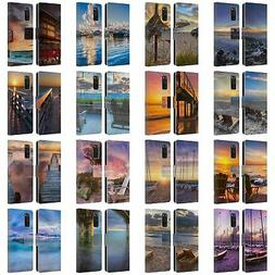 CELEBRATE LIFE GALLERY BEACHES 2 LEATHER BOOK WALLET CASE FO