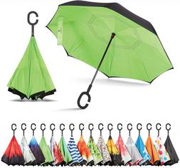 Sharpty Inverted Umbrella, Windproof, Reverse, Umbrellas for