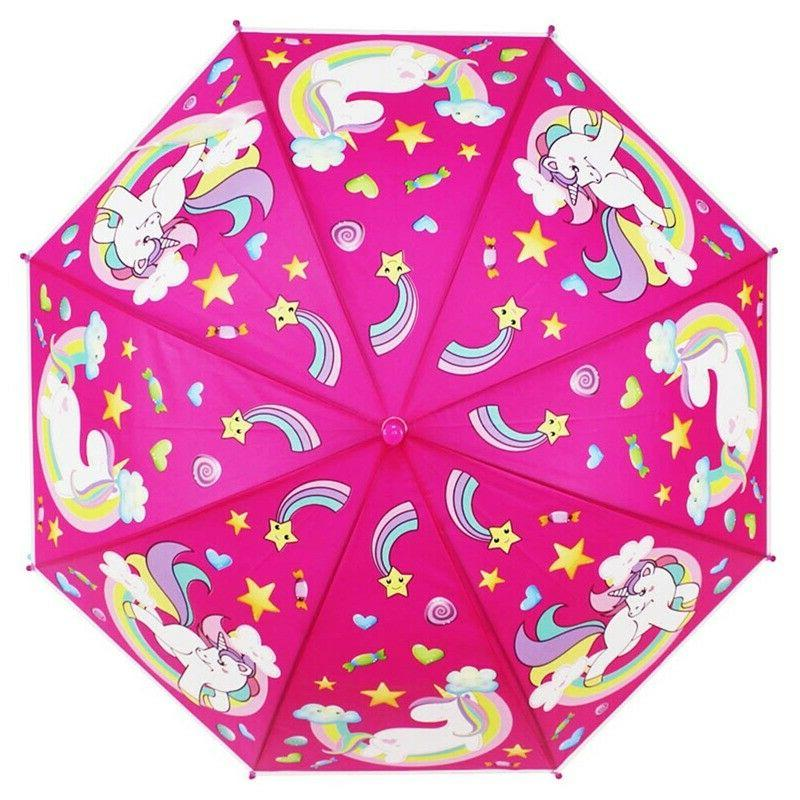 Children Lovely Umbrella Gifts Automatic Sunny Protection