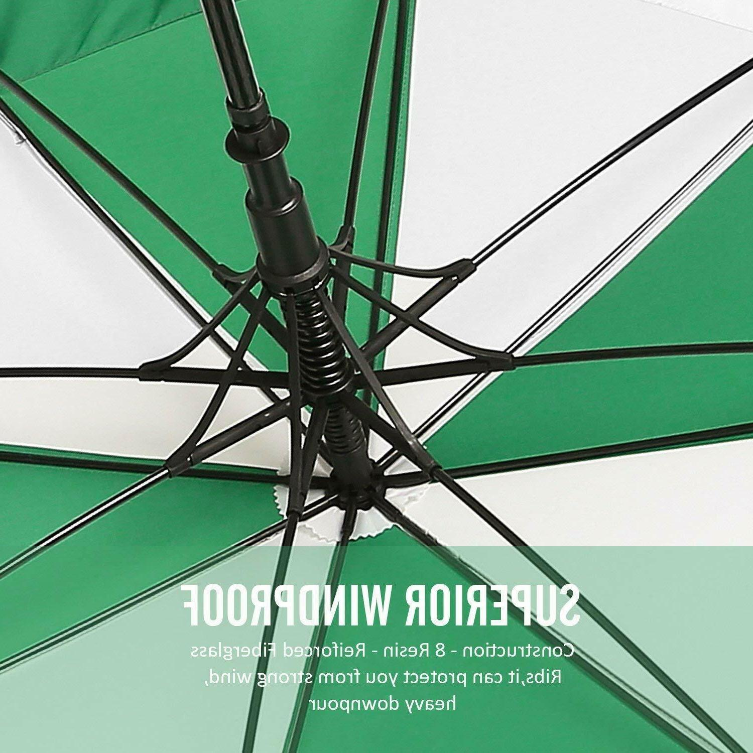 BAGAIL Umbrella Inch Large Canopy Vented Windproof