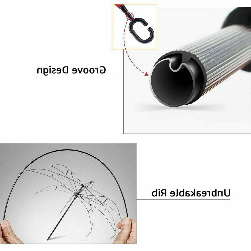 Inverted Double Layer Umbrella Folding Down