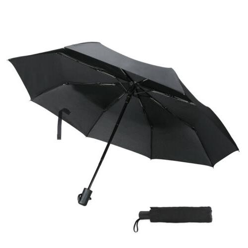 Auto Open/Close Folding Umbrellas Oversize Large Rain Golf M