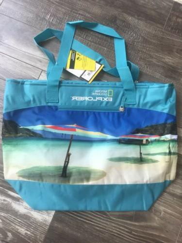 National Geographic Beach Insulated Mega Brand