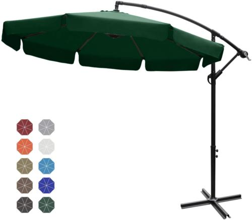 ABCCANOPY Patio Umbrellas Cantilever Umbrella Offset Hanging