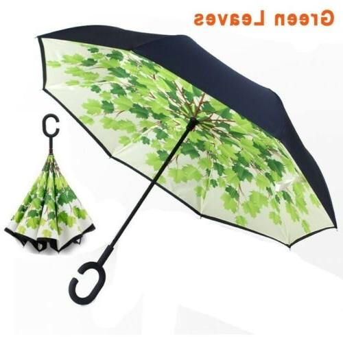 Double Layer Reverse Folding Protective Windproof