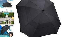 N1Fit Extra Large Golf Umbrella Double Canopy Vented Square
