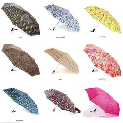 NEW Totes Auto Open Compact Folding Umbrellas Choose from 40