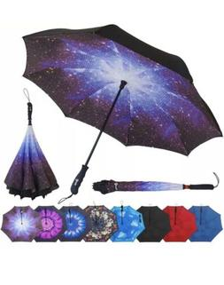 Repel Reverse Folding Inverted Umbrella with 2 Layered Teflo