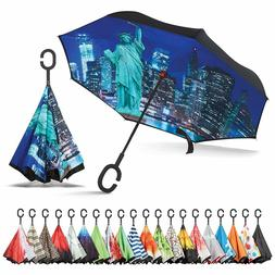 Sharpty Inverted Umbrella,Umbrella Windproof,Reverse Umbrell