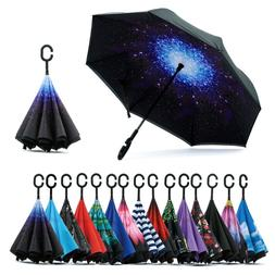 Spar. Saa Double Layer Inverted Umbrella with C-Shaped Handl