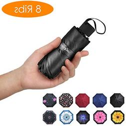 Travel Mini Umbrella Windproof UV Folding Compact Portable L