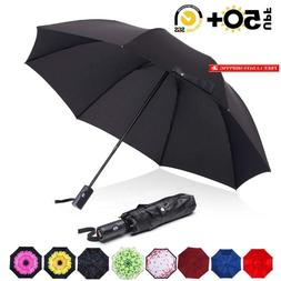Abccanopy Umbrella Compact RainWind Teflon Repellent Umbrell