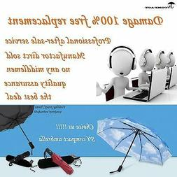 SY COMPACT Windproof Umbrella Automatic Umbrellas, flower ye